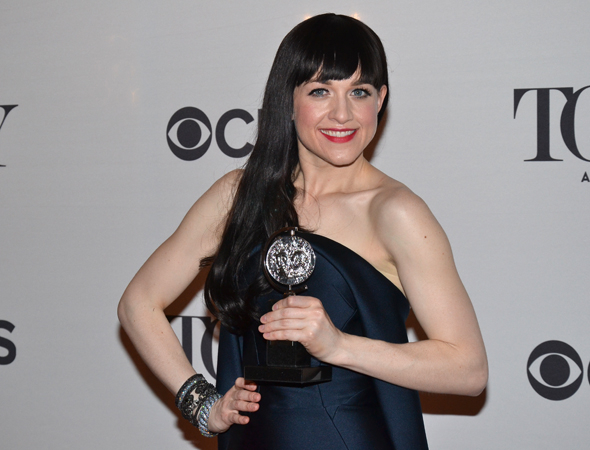<p>Lena Hall, recipient of the Best Featured Actress in a Musical Tony for <em>Hedwig and the Angry Inch</em>.</p><br />(© David Gordon)