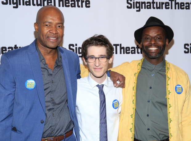 <p>Leon Addison Brown, Noah Robbins, and Sahr Ngaujah star in <em>&quot&#x3B;Master Harold&quot&#x3B;...and the Boys</em>.</p><br />(© Tricia Baron)