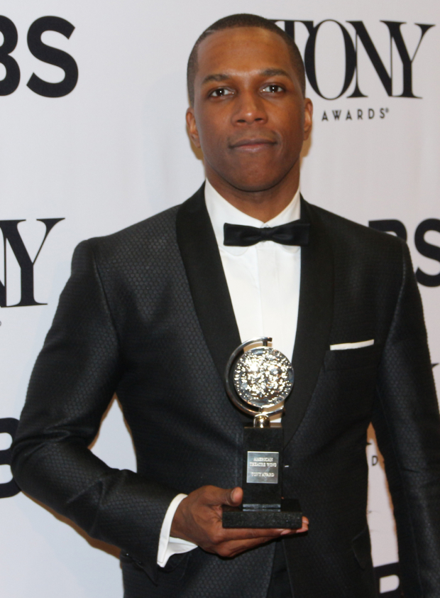 <p>Leslie Odom Jr., Best Actor in a Musical winner for <em>Hamilton</em>.</p><br />(© David Gordon)