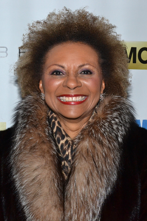<p>Leslie Uggams is really pumped to see the show.</p><br />(© David Gordon)
