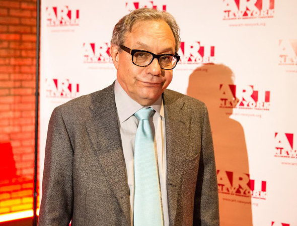 <p>Lewis Black poses for photos on the red carpet.</p><br />(© Ashly Covington/Covington Portraits)