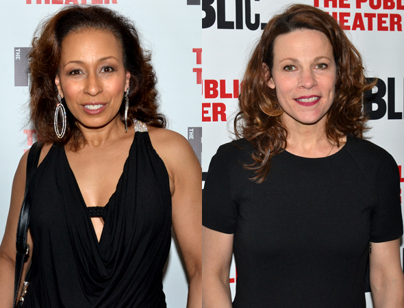 <p>Tamara Tunie and Lili Taylor take on the roles of The Detective and Dawn Sheridan, respectively.</p><br />(© David Gordon)
