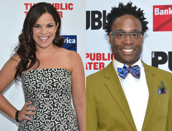 <p>Lindsay Mendez and Billy Porter were featured soloists during the &quot&#x3B;Montage,&quot&#x3B; singing &quot&#x3B;Nothing&quot&#x3B; and &quot&#x3B;Gimme the Ball,&quot&#x3B; respectively.</p><br />(©  David Gordon)