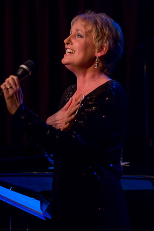 <p>Liz Callaway performs a song from <em>Baby</em>.</p><br />(©Seth Walters)