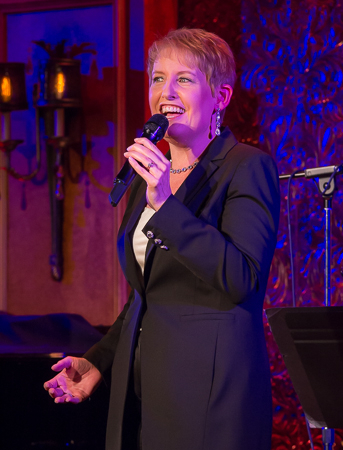 <p>Liz Callaway stopping the show with &quot&#x3B;Meadowlark.&quot&#x3B;</p><br />(© Seth Walters)
