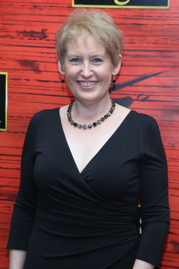 <p>Liz Callaway, the original Broadway Ellen of <em>Miss Saigon</em> is on hand for the revival&#39&#x3B;s opening night.</p><br />(© Tricia Baron)
