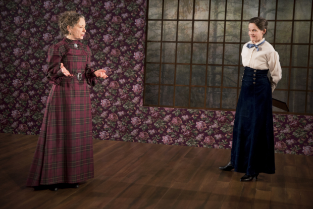 <p>Lizbeth Mackay and Enid Graham in a scene from <em>Bull in a China Shop</em>.</p><br />(© Jenny Anderson)