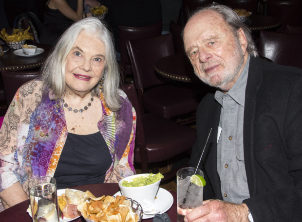 <p>Lois Smith, a special citation recipient, is joined by Harris Yulin.</p><br />(© David Gordon)