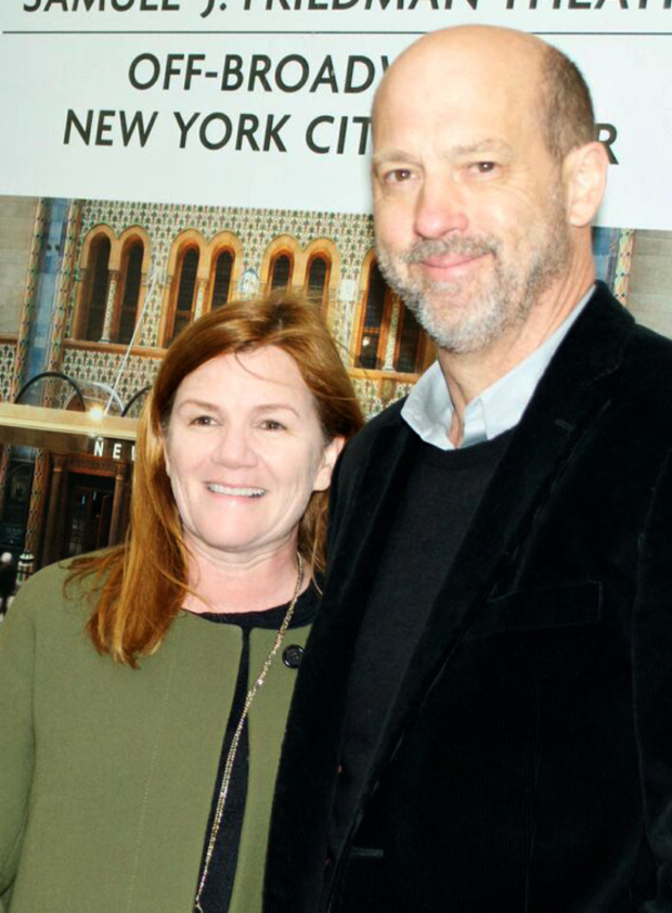 <p>Longtime pals Mare Winningham and Anthony Edwards take in a show together.</p><br />(© Kristin Goehring)