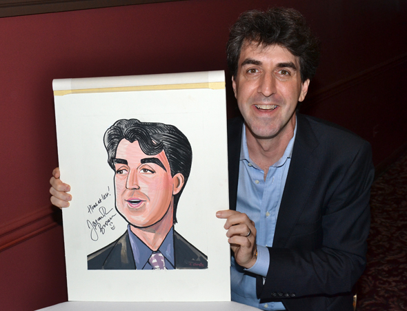 <p>Look for Jason Robert Brown on the walls of Sardi&#39&#x3B;s!</p><br />(© David Gordon)