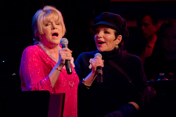 <p>Lorna Luft and Liza Minnelli stop the show with a beautiful sisters medley.</p><br />(© Seth Walters)