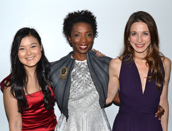 <p><em>Luce</em>&#39&#x3B;s lovely ladies: Olivia Oauma, Sharon Washington, and Marin Hinkle.</p><br />(© David Gordon)