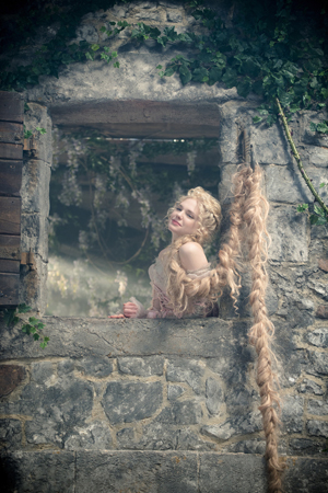 <p>MacKenzie Mauzy takes on the role of the long-haired  Rapunzel.</p><br />(© Disney Enterprises, Inc.)