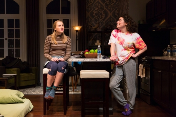 <p>Maddie Jo Landers shares a scene with Laura Lapidus.</p><br />(© T. Charles Erickson)