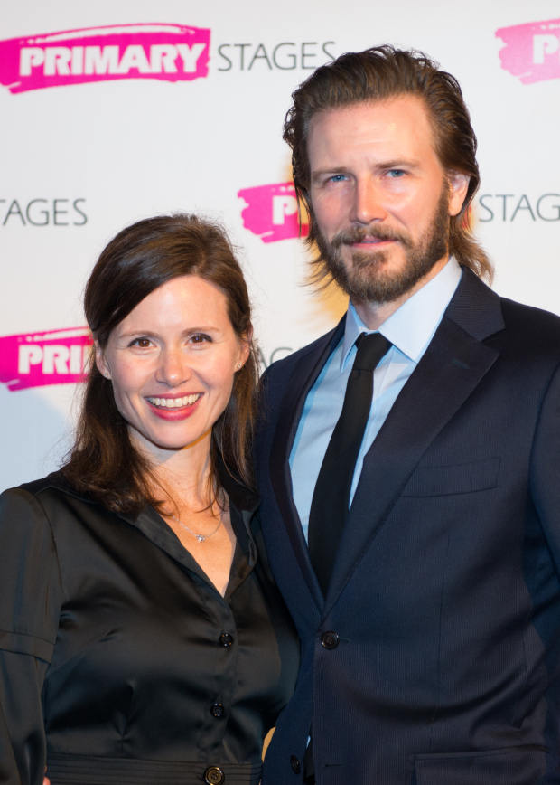 <p>Maggie Lacey and Bill Heck shared the stage in Horton Foote&#39&#x3B;s <em>The Orphans&#39&#x3B; Home Cycle</em>.</p><br />(© Allison Stock)