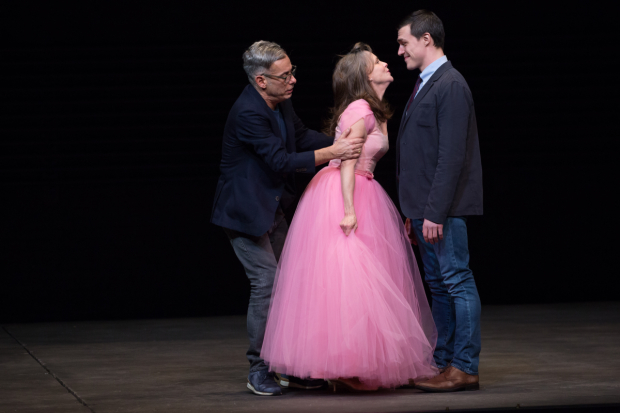 <p>Mantello, Field, and Wittrock share a scene in Tennessee Williams&#39&#x3B; seminal darma.</p><br />(© Julieta Cervantes)