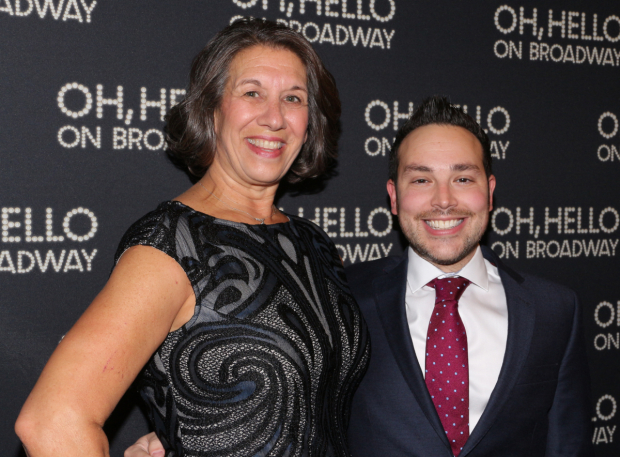 <p>Marcia Goldberg and Patrick Catullo are the producers of <em>Oh, Hello On Broadway</em>.</p><br />(© David Gordon)