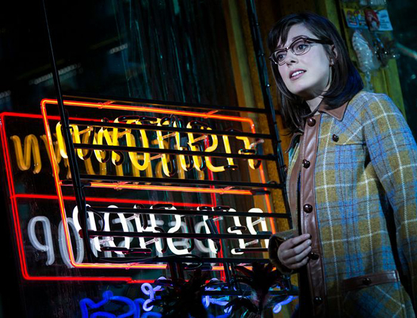<p>Margo Seibert makes her Broadway debut as Rocky&#39&#x3B;s girlfriend, Adrian.</p><br />(© Matthew Murphy)