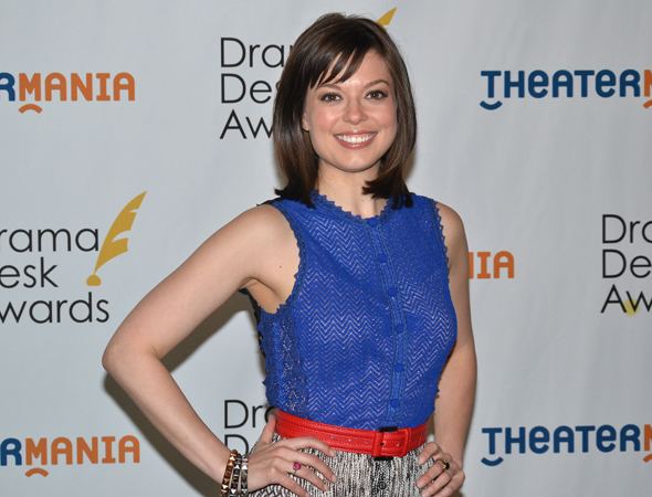 <p>Margo Seibert — Outstanding Actress in a Musical nominee for <em>Tamar of the River</em>.</p><br />(© David Gordon)