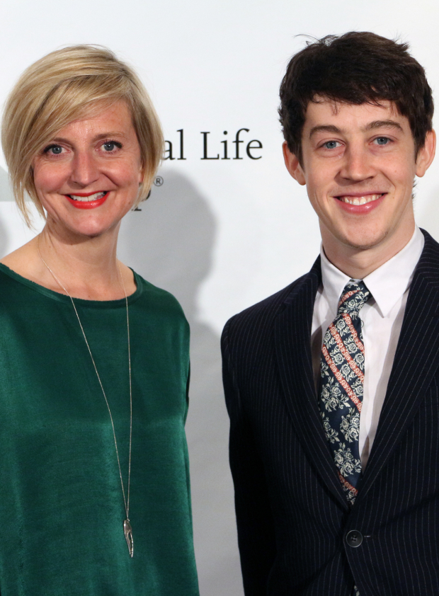 <p>Marianne Elliott and Alex Sharp — <em>The Curious Incident of the Dog in the Night-Time</em></p><br />(© David Gordon)