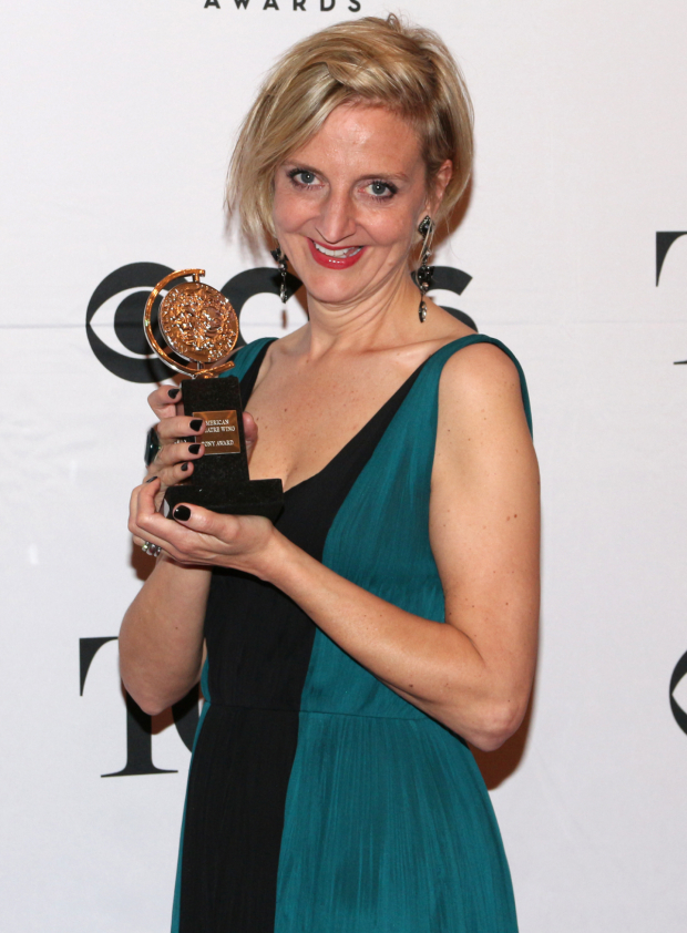 <p>Marianne Elliott — Best Director of a Play, <em>The Curious Incident of the Dog in the Night-Time</em>.</p><br />(© David Gordon)