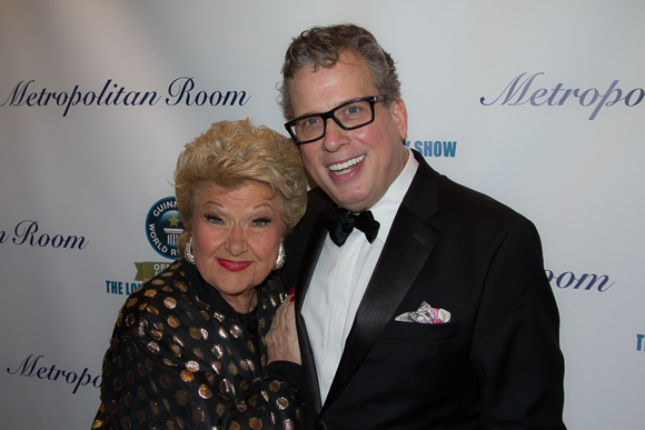 <p>Marilyn Maye and Billy Stritch performed two 90-minute sets to keep the event going.</p><br />(© Seth Walters)