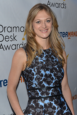 <p>Marin Ireland, a presenter during the show.</p><br />(© David Gordon)