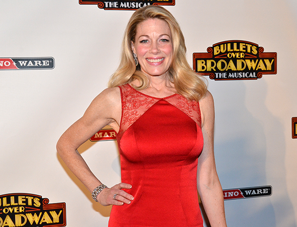 <p>Marin Mazzie returns to the stage as diva actress Helen Sinclair.</p><br />(© David Gordon)