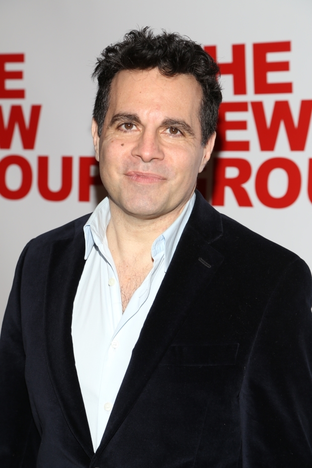 <p>Mario Cantone can&#39&#x3B;t resist a night of good theater.</p><br />(© Tricia Baron)