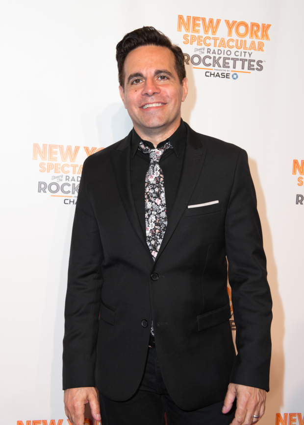 <p>Mario Cantone is ready for a night at the theater.</p><br />(© Allison Stock)