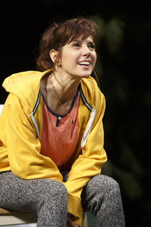<p>Marisa Tomei steps into the role of Pony Jones.</p><br />(© Joan Marcus)