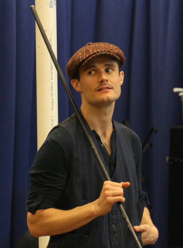 <p>Mark Evans plays Bert.</p><br />(&copy&#x3B; David Gordon)