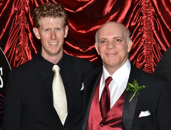 <p>Mark Ledbetter and Eddie Korbich are among the show&#39&#x3B;s ensemble members.</p><br />(© David Gordon)