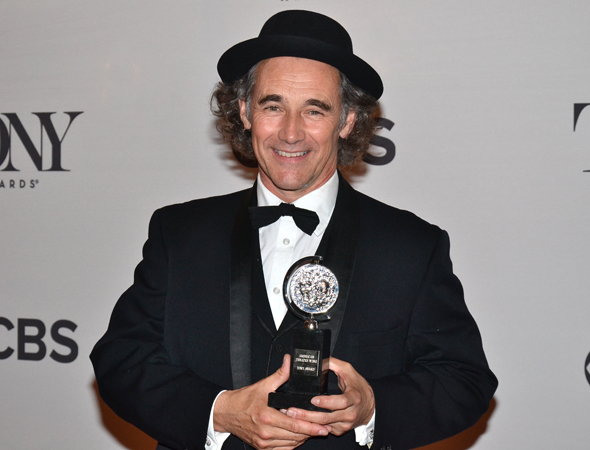 <p>Mark Rylance, recipient of the Best Featured Actor in a Play Tony Award for <em>Twelfth Night</em>.</p><br />(© David Gordon)