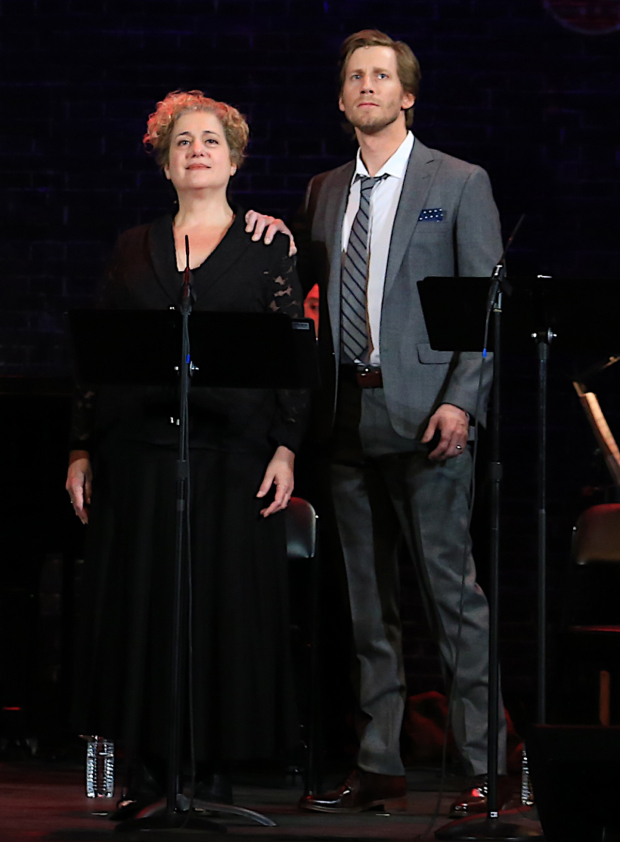 <p>Mary Testa shares the stage with Andrew Samonsky.</p><br />(© Tricia Baron)