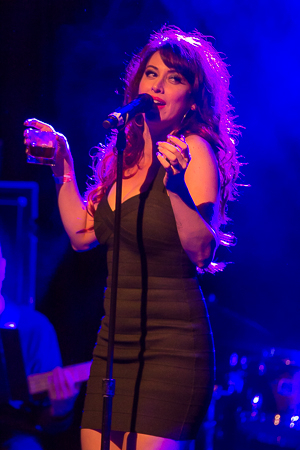 <p>Matilda&#39&#x3B;s Lesli Margherita does her best Amy Winehouse with &quot&#x3B;Rehab.&quot&#x3B;</p><br />(© Seth Walters)