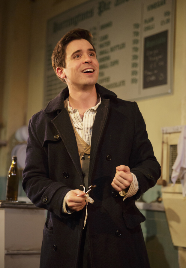 <p>Matt Doyle is a dashing Anthony.</p><br />(© Joan Marcus)
