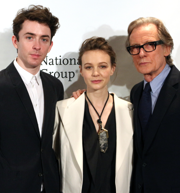 <p>Matthew Beard, Carey Mulligan, and Bill Nighy — <em>Skylight</em></p><br />(© David Gordon)
