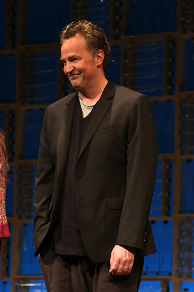 <p>Matthew Perry makes his New York stage debut.</p><br />(© Tricia Baron)