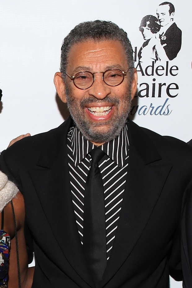 <p>Maurice Hines received a special award for Outstanding Body of Work in Dance.</p><br />(© Tricia Baron)