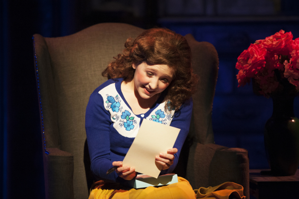 <p>Maya Brettell as teen Bertie.</p><br />(© Margot I. Schulman)