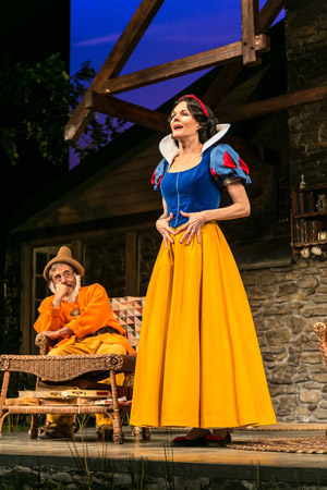 <p>McCormick finds her inner Snow White.</p><br />(© Jerry Dalia)