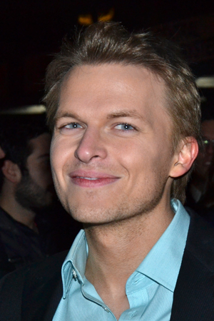<p>Media personality Ronan Farrow is on hand for opening night.</p><br />(© David Gordon)