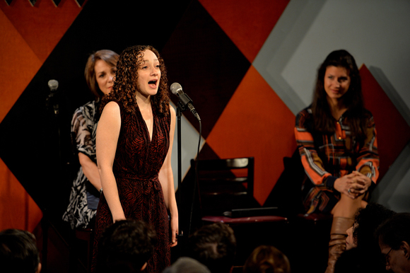 "<p>Megan McGinnis sings ""Some Things Are Meant to Be"" from <em>Little Women</em>, which was produced by honoree Randall Wreghitt.</p><br />(© Eduardo PATINO, NYC.)"