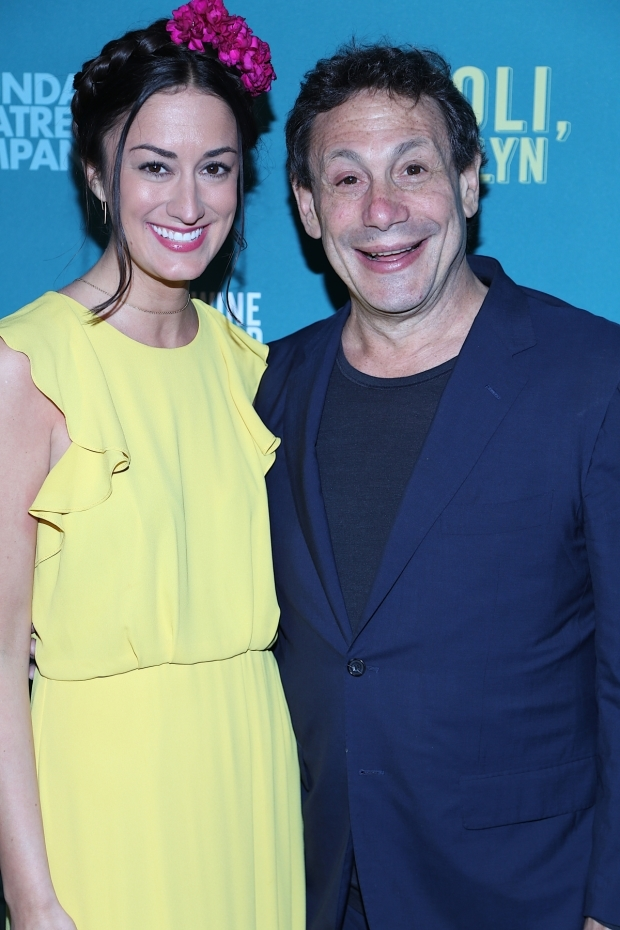 <p>Meghan Kennedy and Gordon Edelstein grab a photo together on opening night.</p><br />(© Tricia Baron)