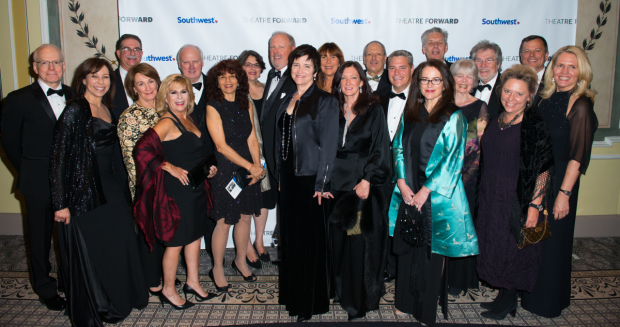 <p>Members of the board celebrate at Theatre Forward&#39&#x3B;s annual gala.</p><br />(© Allison Stock)