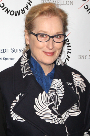 <p>Meryl Streep was among the guests at the gala evening.</p><br />(© David Gordon)
