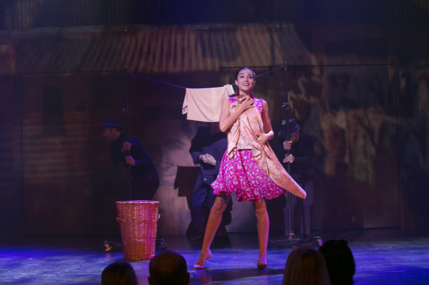<p>Micaela Spina in a scene from <em>Arrabal</em>.</p><br />(© Evgenia Eliseeva)