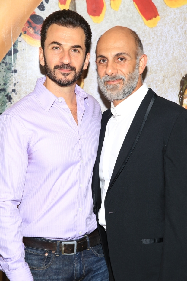 <p>Michael Aronov and Anthony Azizi take on crucial roles in this political drama.</p><br />(© Tricia Baron)