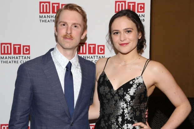 <p>Michael Benz and Francesca Carpanini make their Broadway debuts in <em>The Little Foxes</em>.</p><br />(© Tricia Baron)